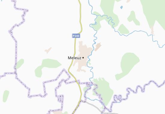 Kaart Plattegrond Meleuz