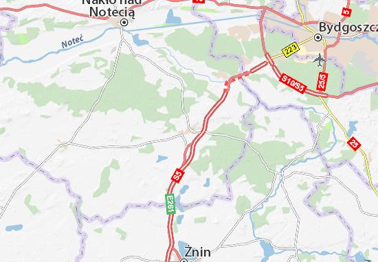 Szubin Map