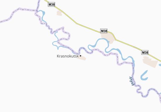 Mapas-Planos Krasnokutsk