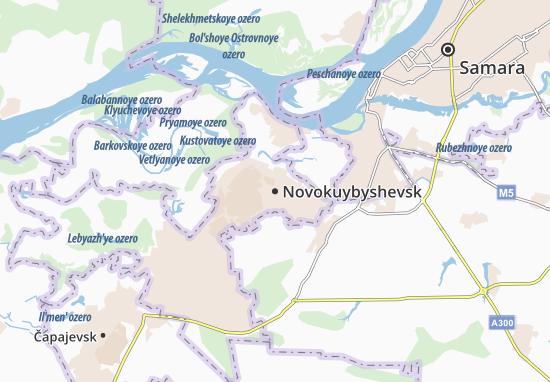Novokuybyshevsk Map