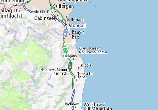 Greystones Map