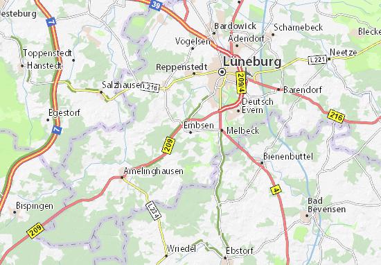 Embsen Map