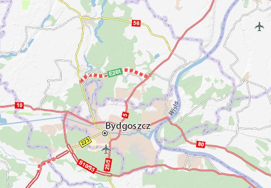 Osielsko Map
