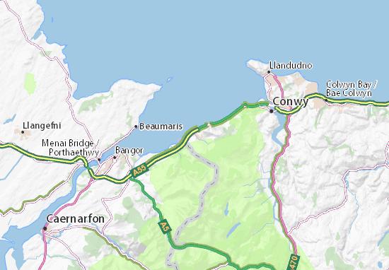 Llanfairfechan Map