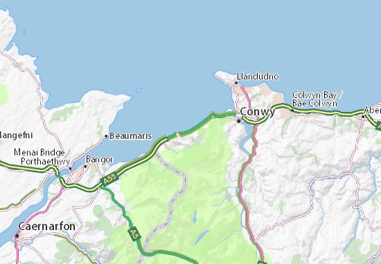Penmaenmawr Map