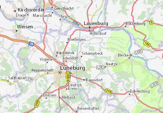 Scharnebeck Map