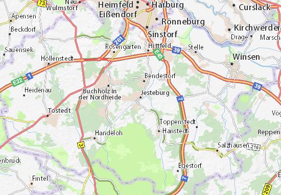 Mappe-Piantine Jesteburg