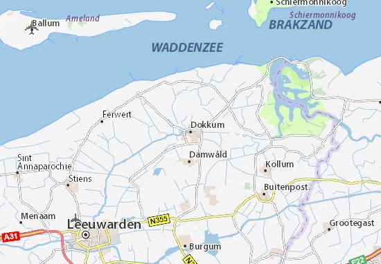 Dokkum Map