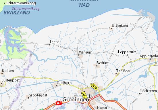 Mapas-Planos Winsum