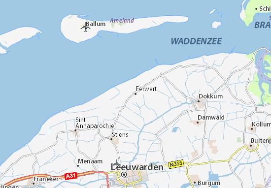 Ferwert Map