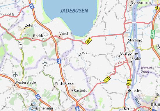 Karte Stadtplan Jade