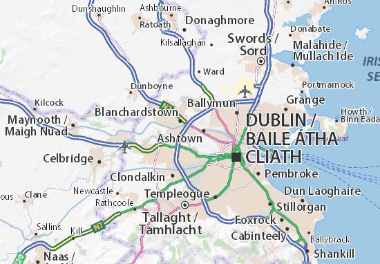 Castleknock Map