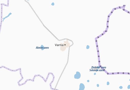 Map Of Varna Michelin Varna Map ViaMichelin - Varna map
