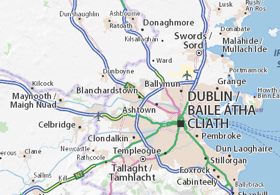 Carte-Plan Blanchardstown