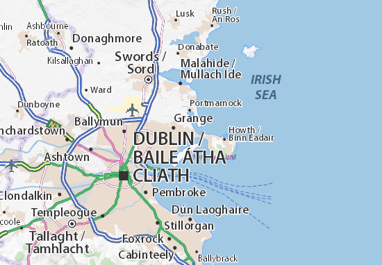 Baldoyle Map