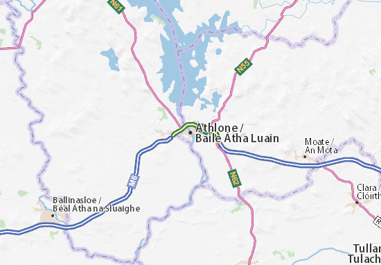 Athlone Map