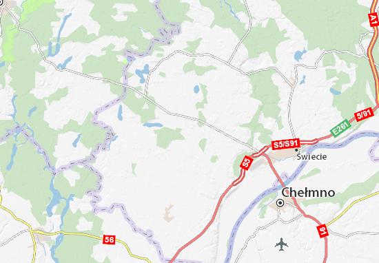 Mapa Bukowiec