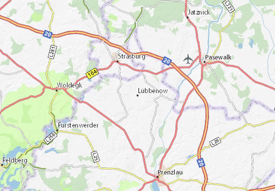 Mappe-Piantine Lübbenow