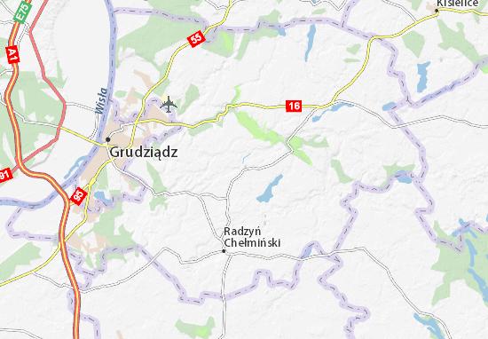 Karte Stadtplan Gruta