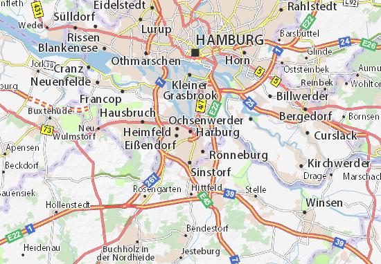 Harburg Map