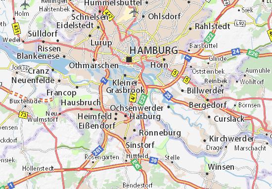 Wilhemsburg Map
