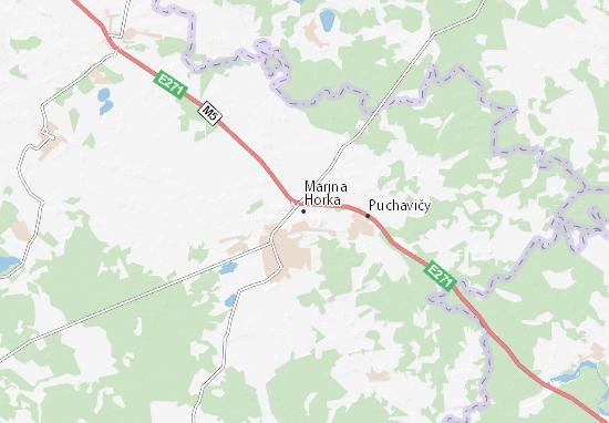 Marjna Horka Map