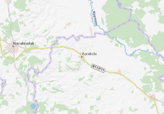 Mapa Plano Korelichi