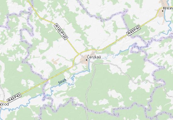 Mapas-Planos Čerykaŭ