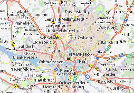 Carte-Plan Eppendorf