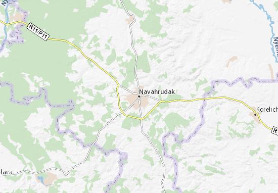 Navahrudak Map