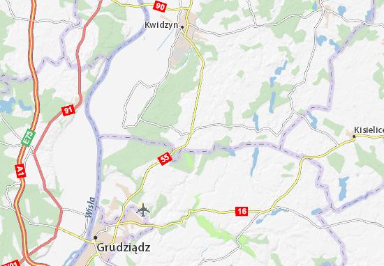 Mapa Gardeja