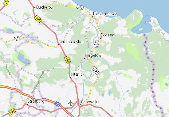 Mapas-Planos Torgelow