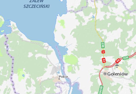 Stepnica Map