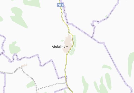 Carte-Plan Abdulino