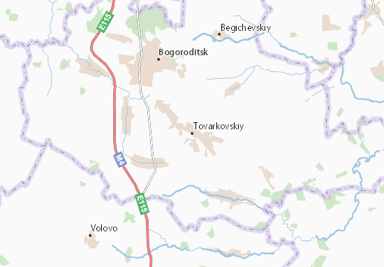 Carte-Plan Tovarkovskiy