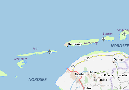 Norderney Map