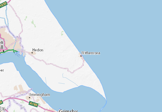 Carte-Plan Withernsea