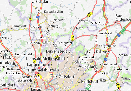 Tangstedt Map