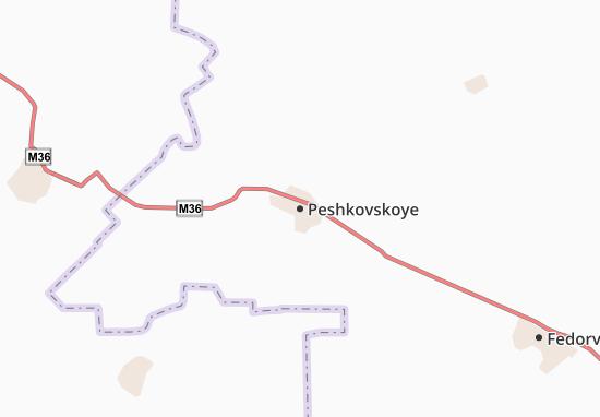 Peshkovskoye Map