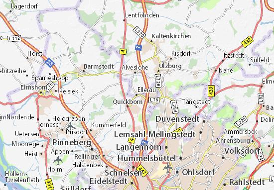Ellerau Map
