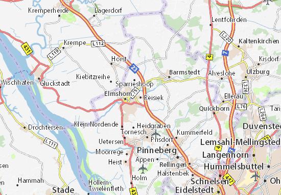 Reisiek Map