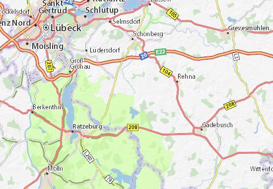 Carlow Map