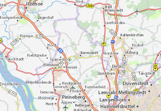 Mappe-Piantine Barmstedt