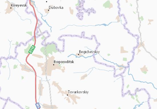 Carte-Plan Begichevskiy