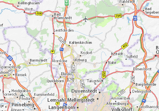 Kisdorf Map Detailed Maps For The City Of Kisdorf Viamichelin
