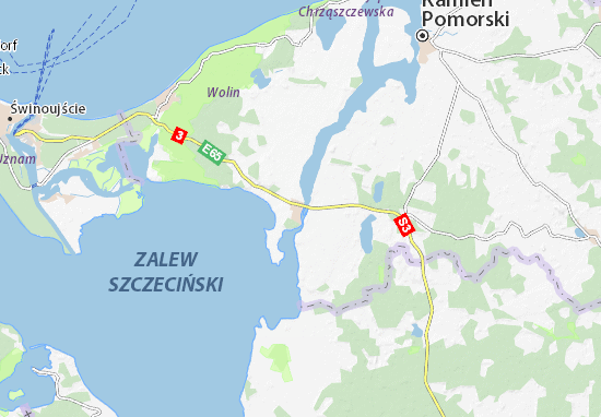 Mapa Plano Wolin