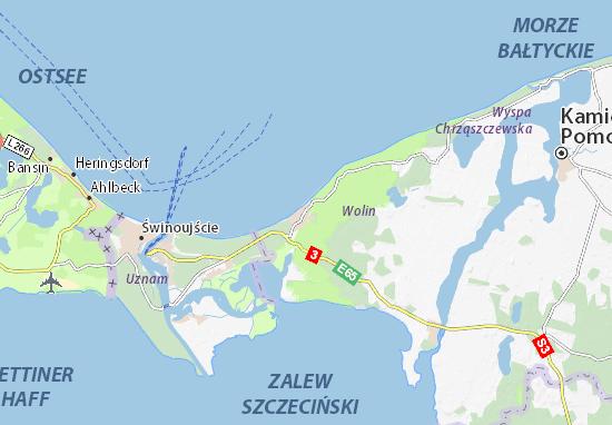 Międzyzdroje Map