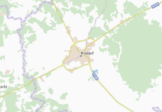 Mapas-Planos Roslavl'