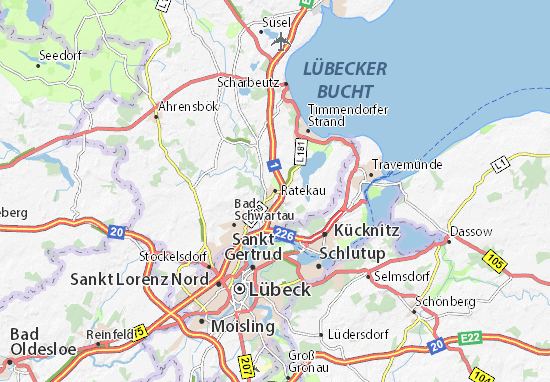 Ratekau Map