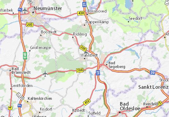 Karte Stadtplan Wahlstedt